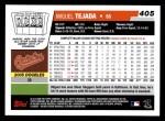 2006 Topps #405  Miguel Tejada  Back Thumbnail