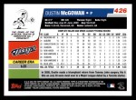 2006 Topps #426  Dustin McGowan  Back Thumbnail