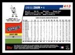 2006 Topps #413  Gregg Zaun  Back Thumbnail
