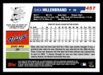 2006 Topps #457  Shea Hillenbrand  Back Thumbnail