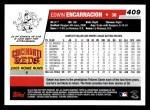 2006 Topps #409  Edwin Encarnacion  Back Thumbnail
