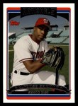 2006 Topps #550  Alfonso Soriano  Front Thumbnail