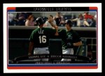 2006 Topps #654  Travis Lee / Rocco Baldelli  Front Thumbnail