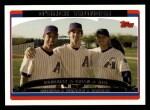 2006 Topps #657   -  Luis Gonzalez / Shawn Green / Koyie Hill Team Stars Front Thumbnail