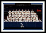2006 Topps #612   Los Angeles Dodgers Team Front Thumbnail