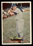 1957 Topps #260  Del Ennis  Front Thumbnail