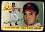 1955 Topps #125  Ken Boyer  Front Thumbnail