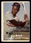 1957 Topps #26  Bob Boyd  Front Thumbnail