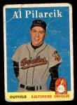1958 Topps #259  Al Pilarcik  Front Thumbnail