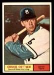 1961 Topps #13  Chuck Cottier  Front Thumbnail