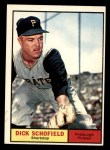 1961 Topps #453  Dick Schofield  Front Thumbnail