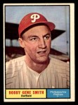 1961 Topps #316  Bobby Gene Smith  Front Thumbnail