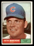1961 Topps #107 CMP Seth Morehead  Front Thumbnail