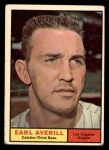 1961 Topps #358  Earl Averill Jr.  Front Thumbnail