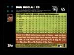 2007 Topps #65  Dan Uggla  Back Thumbnail
