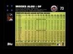 2007 Topps #73  Moises Alou  Back Thumbnail