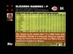 2007 Topps #84  Elizardo Ramirez  Back Thumbnail