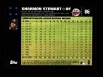 2007 Topps #86  Shannon Stewart  Back Thumbnail