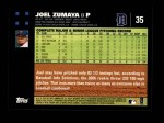 2007 Topps #35  Joel Zumaya  Back Thumbnail