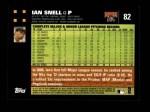 2007 Topps #82  Ian Snell  Back Thumbnail