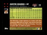 2007 Topps #77  Austin Kearns  Back Thumbnail
