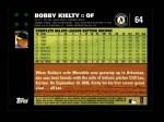 2007 Topps #64  Bobby Kielty  Back Thumbnail