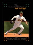 2007 Topps #2  Nick Swisher  Front Thumbnail