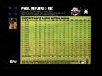 2007 Topps #96  Phil Nevin  Back Thumbnail