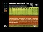 2007 Topps #19  Alfredo Amezaga  Back Thumbnail