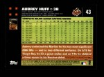 2007 Topps #43  Aubrey Huff  Back Thumbnail