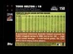 2007 Topps #150  Todd Helton  Back Thumbnail
