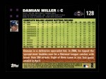 2007 Topps #128  Damian Miller  Back Thumbnail