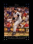 2007 Topps #180  Roy Halladay  Front Thumbnail