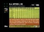 2007 Topps #185  B.J. Upton  Back Thumbnail