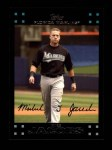 2007 Topps #134  Mike Jacobs  Front Thumbnail