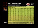 2007 Topps #112  Jeff Conine  Back Thumbnail