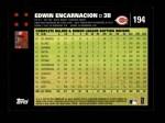 2007 Topps #194  Edwin Encarnacion  Back Thumbnail