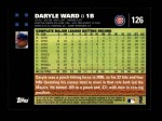 2007 Topps #126  Daryle Ward  Back Thumbnail