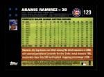 2007 Topps #129  Aramis Ramirez  Back Thumbnail