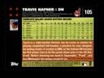 2007 Topps #105  Travis Hafner  Back Thumbnail