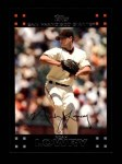 2007 Topps #158  Noah Lowry  Front Thumbnail