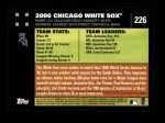 2007 Topps #226   Chicago Back Thumbnail