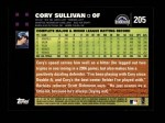 2007 Topps #205  Cory Sullivan  Back Thumbnail