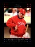 2007 Topps #247  Mike Scioscia  Front Thumbnail