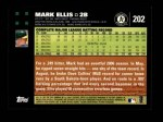2007 Topps #202  Mark Ellis  Back Thumbnail