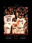 2007 Topps #328   -  Carlos Delgado / David Wright Classic Combo Front Thumbnail