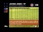 2007 Topps #398  Jacque Jones  Back Thumbnail
