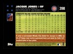 2007 Topps #398  Jacque Jones  Back Thumbnail