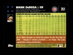 2007 Topps #351  Mark DeRosa  Back Thumbnail