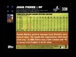 2007 Topps #338  Juan Pierre  Back Thumbnail
